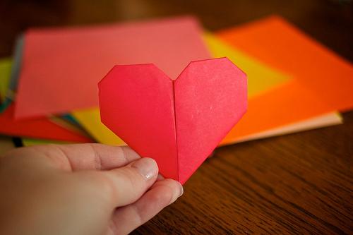 Origami Hearts 61