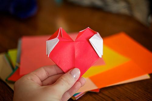 Origami Hearts 59